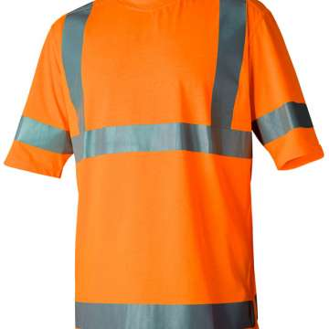 Oransje t-skjorte varsel
