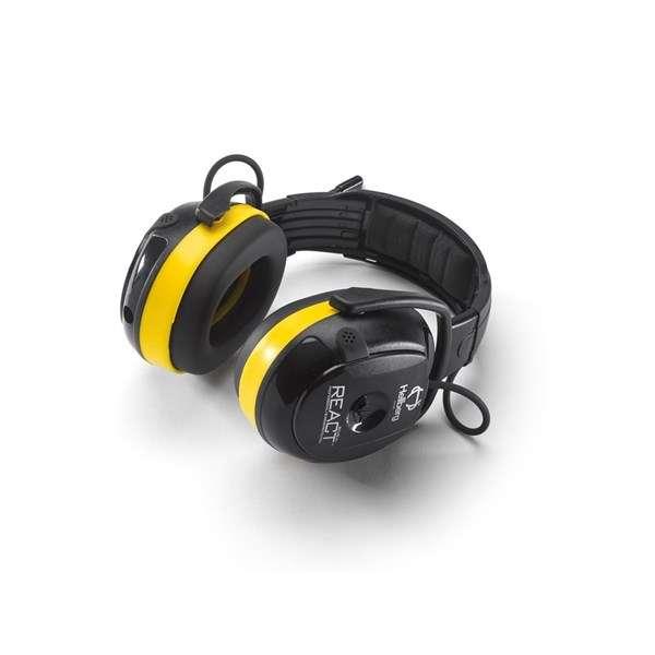React hodebøyle med radio 46002