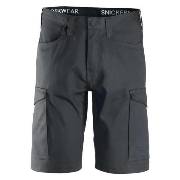 Stålgrå service shorts Snickers Workwear 6100