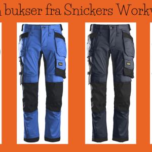 Stretch bukse - Snickers Workwear 6241