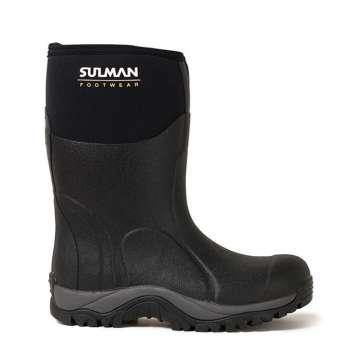 Halvhøy Neoprenstøvel fra Sulman Footwear