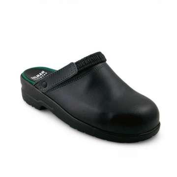 Sulman Footwear Svart tresko verneclog