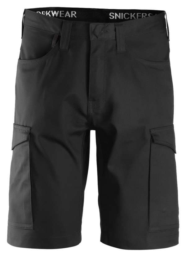 Svart service shorts fra Snickers