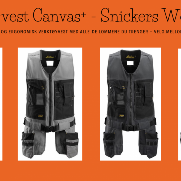 Verktøyvest Canvas+ - Snickers Workwear 4254