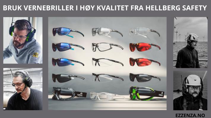 Hellbergs vernebriller gir optimal beskyttelse, god komfort og utmerket passform.