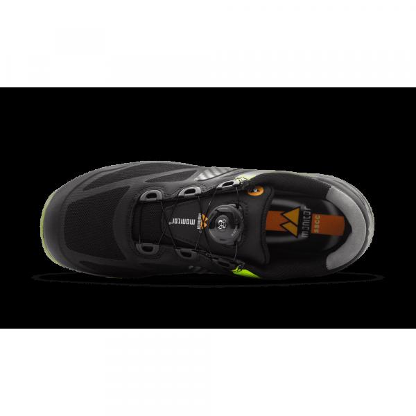 Egenskaper Monitor Spirit: Yttersålen er av gummi og har en mellomsåle i dempende EVA.
