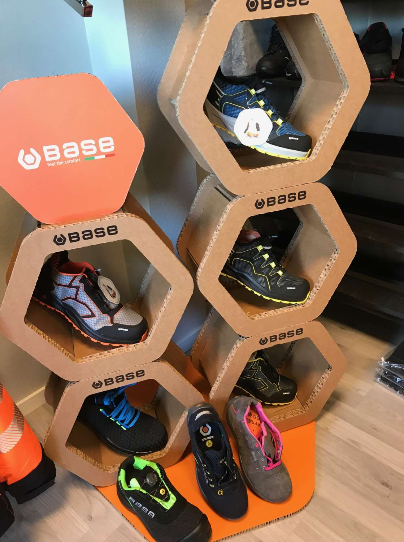 K Trek fra Base Protection ~ Nye generasjon sko med i