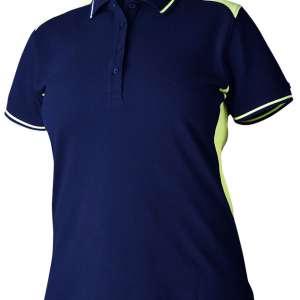Marineblå t-skjorte med forhøyd synbarhet